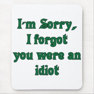 Sorry mousepad