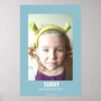 Sorry Print