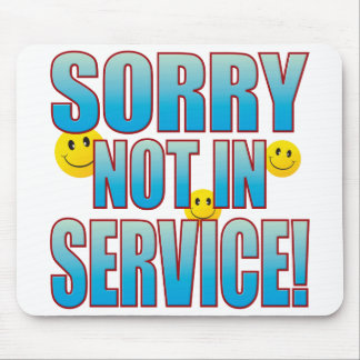 Sorry Service Life B Mouse Pad