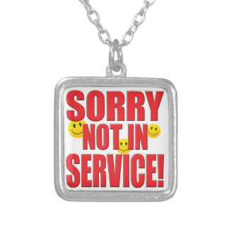 Sorry Service Life Necklace