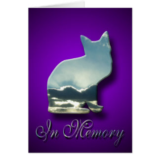 Sorry to Hear About Loss Of Cat Sympathy Card