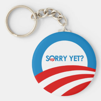 Sorry Yet Basic Round Button Key Ring