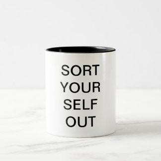 Sort Your Self Out Mug