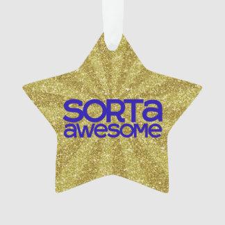 Sorta Awesome Ornament