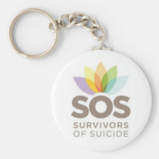 SOS apparel Survivors of Suicide by SPS Keychain