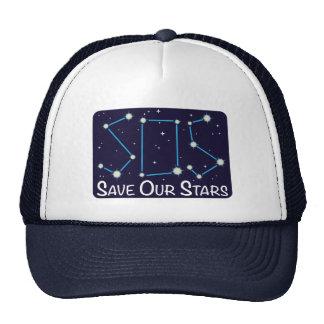 SOS Save Our Stars Cap