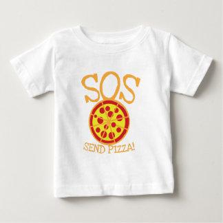 SOS! Send PIZZA! with yummy pepperoni pizza slice Tshirts