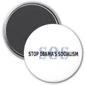 SOS Stop Obama s Socialism Refrigerator Magnet