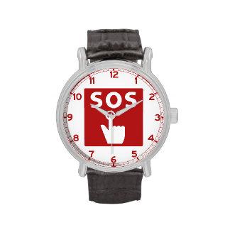 SOS, Subway Sign, Japan Watches