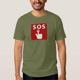 SOS, Subway Sign, Japan Tshirt