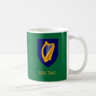 Sos Tae - Tea Break in Irish Gaelic Coffee Mug
