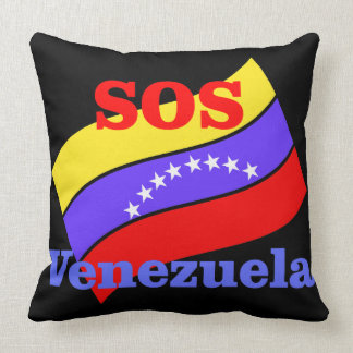 SOS VENEZUELA CUSHION