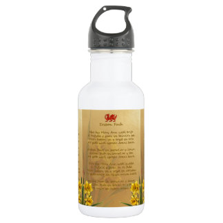 Sosban Fach Welsh Song 532 Ml Water Bottle