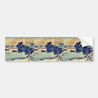 Soshu shichiriga  by Katsushika, Hokusai Ukiyoe Bumper Sticker