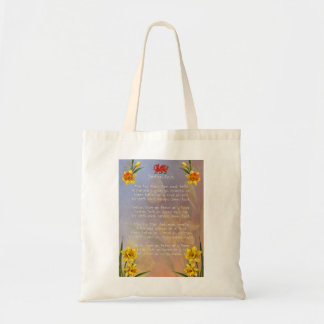 Sospan Fach Daffodil Decorated Tote Bag