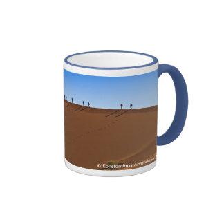 Sossuvlei dunes coffee mug