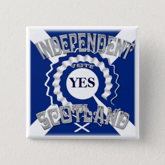 Sottish Independence Campaign 15 Cm Square Badge