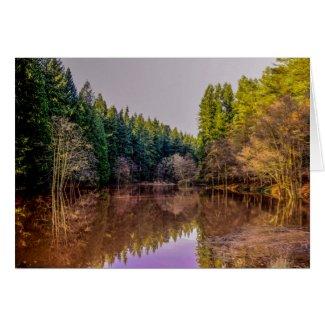 Soudley Ponds Card