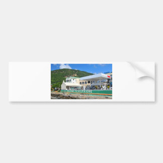Soufriere Saint Lucia Bumper Sticker