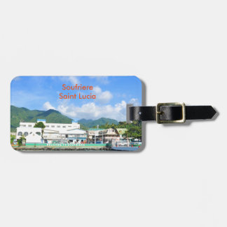 Soufriere Saint Lucia Luggage Tag