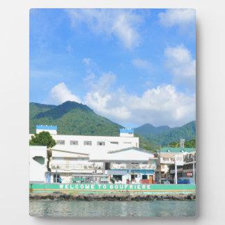 Soufriere Saint Lucia Plaque