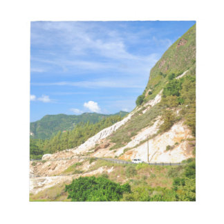 Soufriere Volcano in St. Lucia Notepad