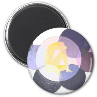 Soul 6 Cm Round Magnet