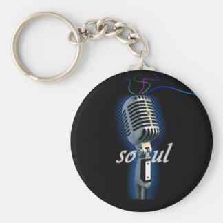 Soul Basic Round Button Key Ring