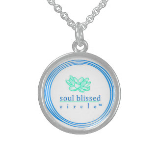 Soul Blissed Circle Signature Necklace Custom Jewelry