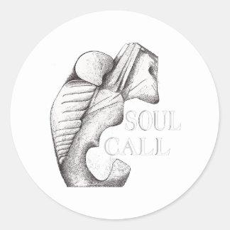 SOUL CALL ROUND STICKER