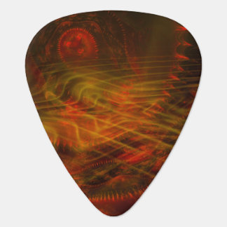 Soul Catcher Fractal Flame Guitar Pick
