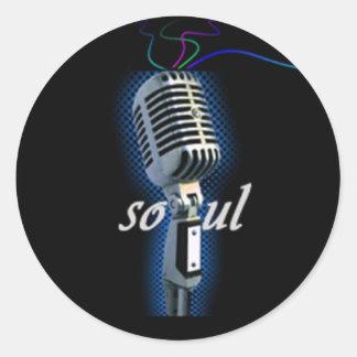 Soul Classic Round Sticker