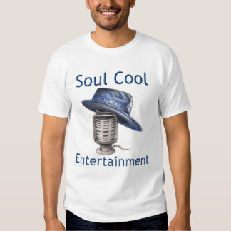 Soul Cool Entertainment (logo centered, front onl) Tee Shirt