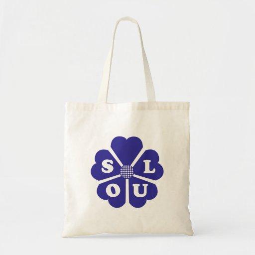 Soul Flower Blue Bag