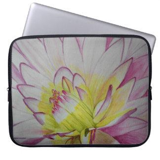 Soul Food Dahlia Watercolor Laptop Sleeve
