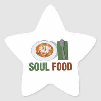 Soul Food Star Sticker