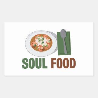 Soul Food Rectangular Sticker