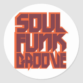 Soul Funk Groove Stickers