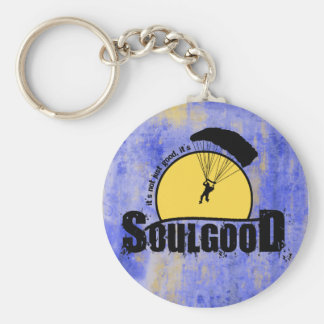 Soul Good Skydiving Keychain