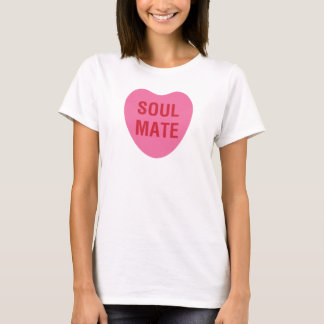 Soul Mate Heart Candy Love Shirt in Pink