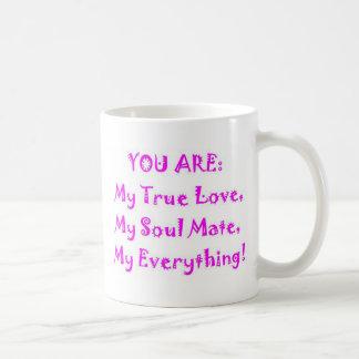 Soul Mate Poem Basic White Mug