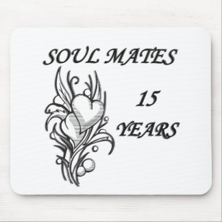 SOUL MATES 15 Years Mouse Pads