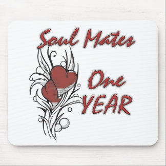 Soul Mates 1 year Mouse Pad