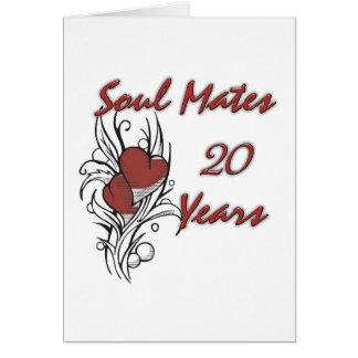 Soul Mates 20 Years Card