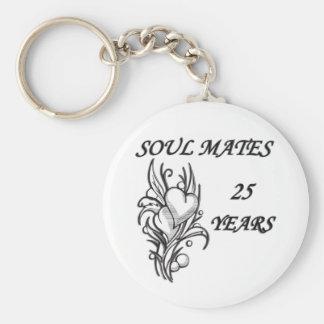 SOUL MATES 25 Years Key Ring