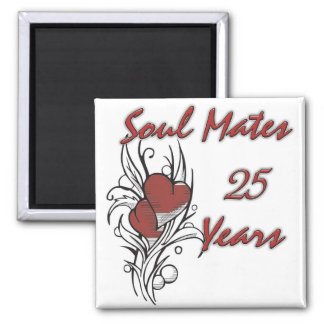 Soul Mates 25 Years Magnet