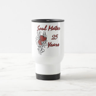 Soul Mates 25 Years Travel Mug
