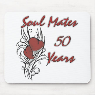 Soul Mates 50 Years Mouse Mat