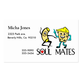 Soul Mates Best Friends Pack Of Standard Business Cards