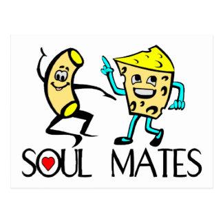 Soul Mates Best Friends Postcard